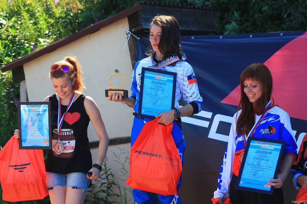 Блог компании FORMAT: Первый FORMAT DH Race, организованный райдером FORMAT factory Team DH
